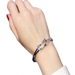 Crystal Sweet and Simple Accessories Student Bracelet Bangles -