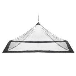 Outdoor Compact Lightweight Tent Mosquito Net Canopy for Single Camping Bed -