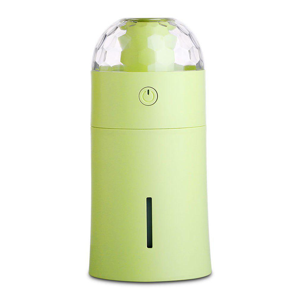 Chic USB Mini 170ml Diffuser Humidifier with Colorful Projector Night Lamp for Baby Bedroom Office Home