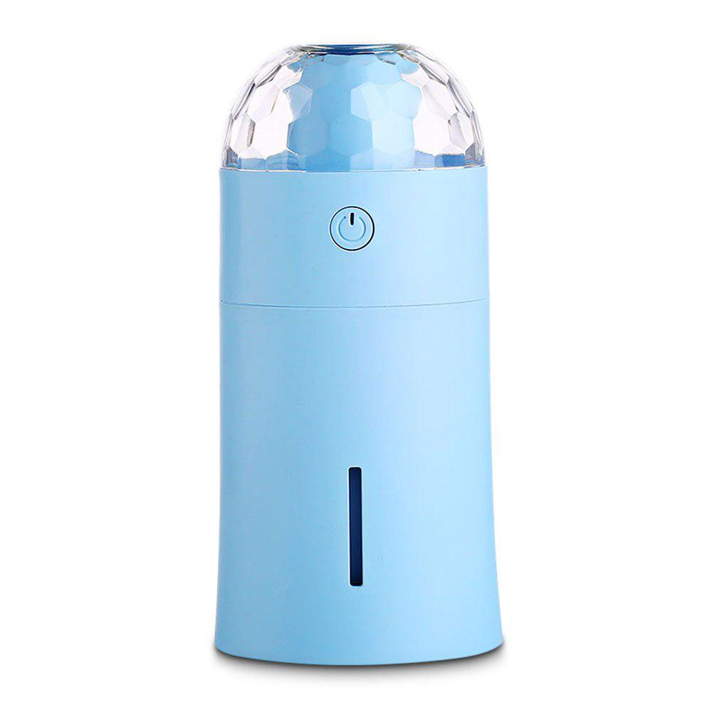Cheap USB Mini 170ml Diffuser Humidifier with Colorful Projector Night Lamp for Baby Bedroom Office Home