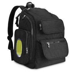 73003 Diaper Bag Large Capacity Multifunction Backpack Separate Pockets -