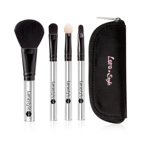 Online Lara Style 4pcs Mini Make Up Brushes with Cute Bag
