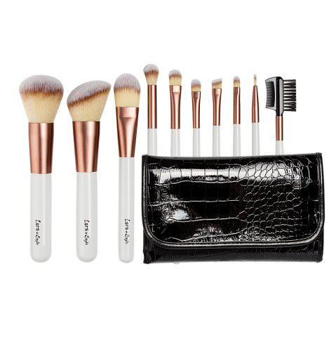 Buy Larastyle 10PCS Deluxe Makeup Brushes with Luxury Black Bag ( Limited Edition )