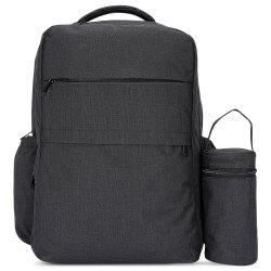 New Style Fashionable Western Large Multi-function Water-resistant Backpack Changing Bag -