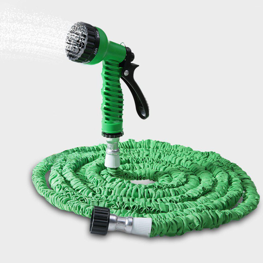 Store 50FT Expandable Garden Hose Pipe with 7 in 1 Spray Gun
