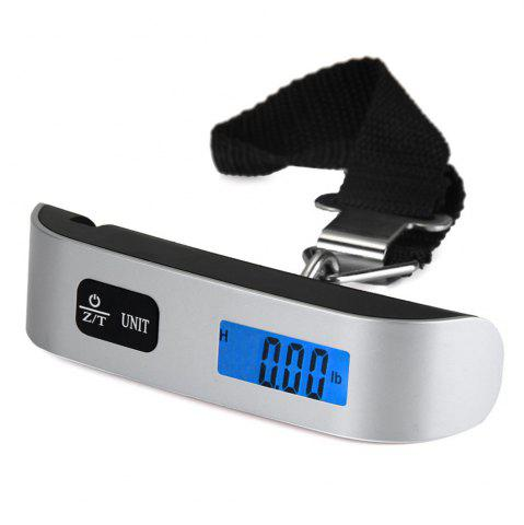Affordable Hostweigh NS-14 LCD Mini Luggage Electronic Scale Thermometer 50kg Capacity Digital Weighing Device