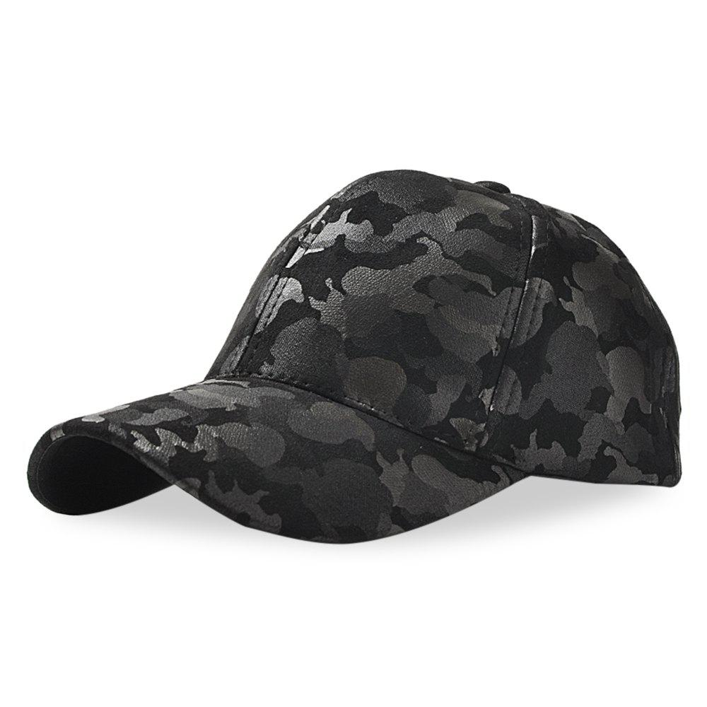 Outfits Baseball Cap 6 Panel Hip Hop Men Women Suede Camouflage Adjustable Hat