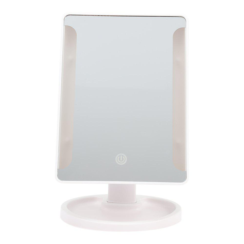Outfits Rotation Intelligent LED Light Makeup Mirror