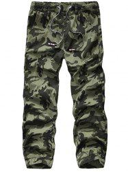 Loose Multi-pocket Men's Outdoor Camouflage Pants -