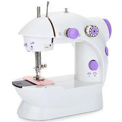 202 Mini Automatic Thread Sewing Machine Double Speed Control Button -