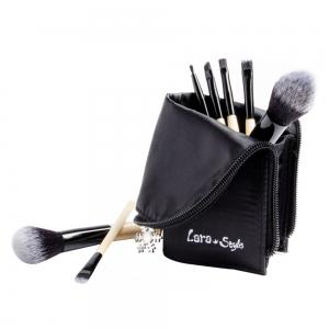 7pcs Funditional Make Up Brosses avec sac -