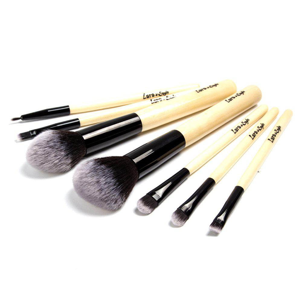 Affordable 7pcs Funditional Make Up Brushes with Bag