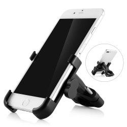 C - 1 Aluminum Alloy Bike Handlebar Holder Bicycle Mobile Phone Bracket -