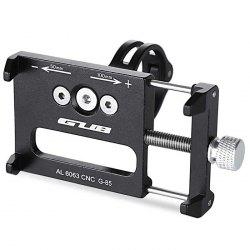 GUB G - 85 Aluminum Alloy Bicycle Handlebar Bike Phone Mount Cycling Holder Stand for Smart Mobile Cellphone -