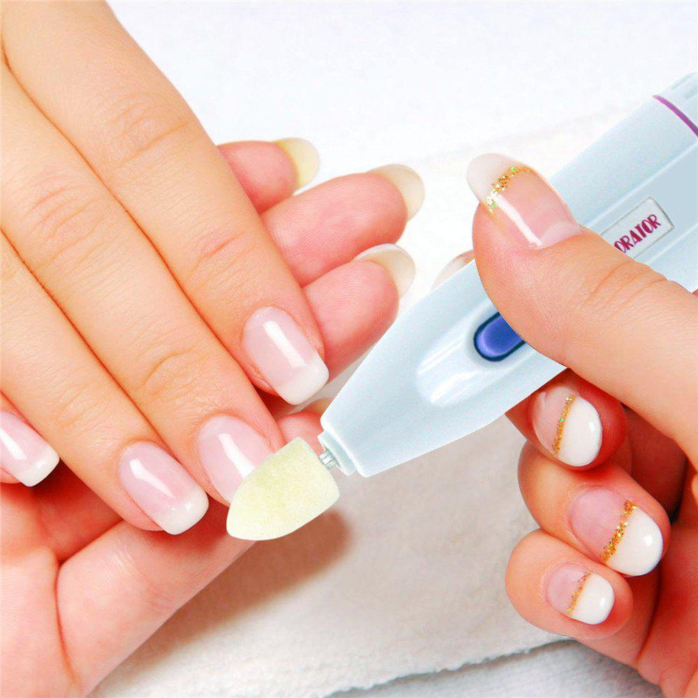 50% OFF] 5 In 1 Electric Nail Decorator Polishing Shaping Manicure ...