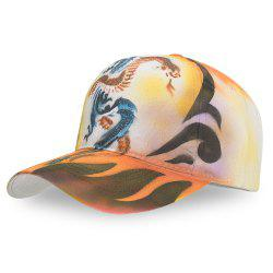 Casquette de baseball imprimé animal -
