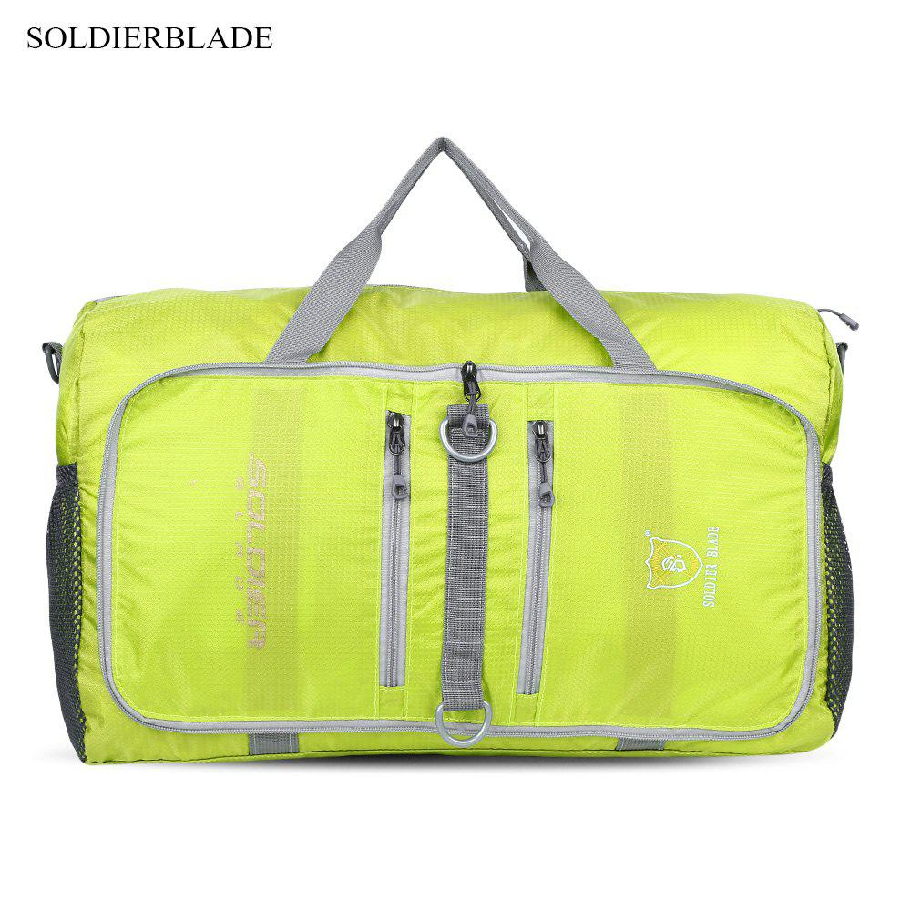 Trendy SOLDIERBLADE Outdoor Foldable Sports Bag Water Resistant Polyamide Large Capacity