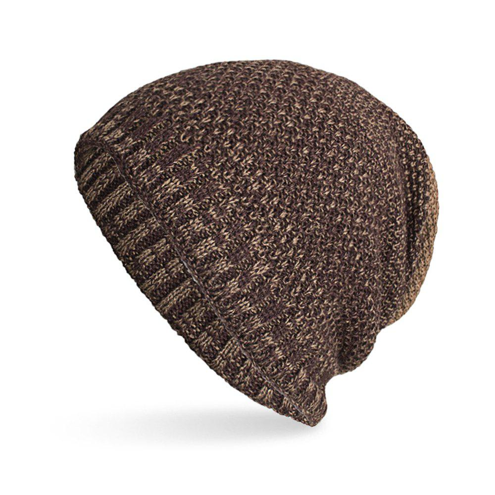 Unique Knitted Wool Cap Fluff Inside Corn Niplet Pullover Casual Outdoor Hat