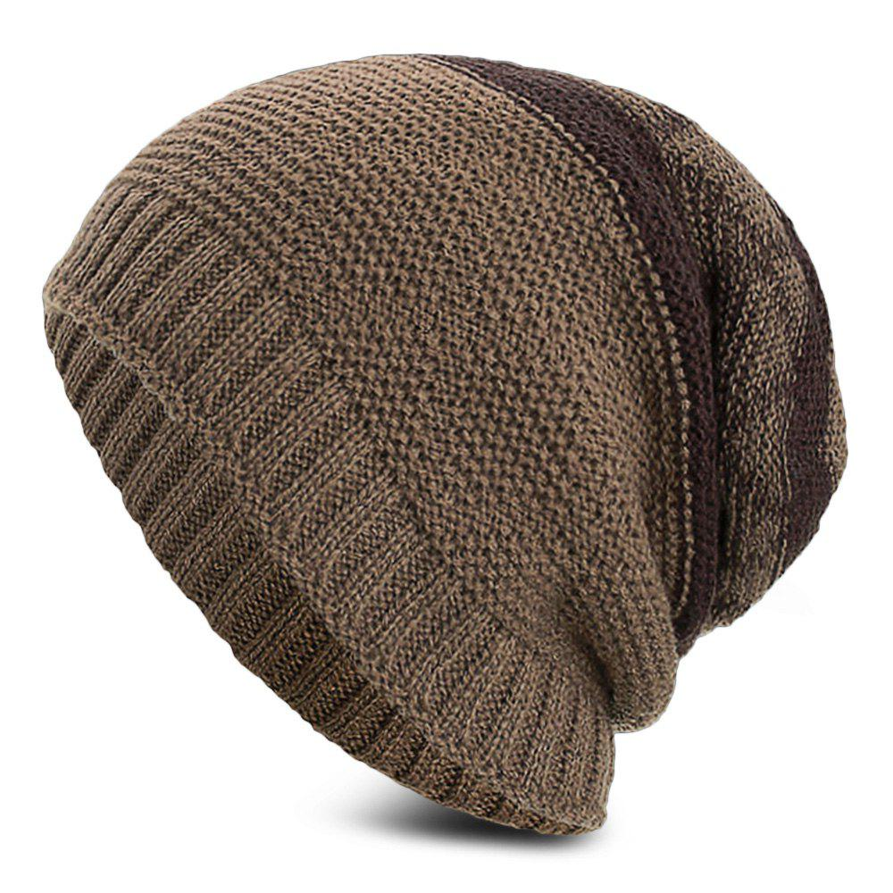 Store Knitted Wool Hat Winter Plus Thick Fluff Line Cap Headgear for Men  Women 62f393a1461