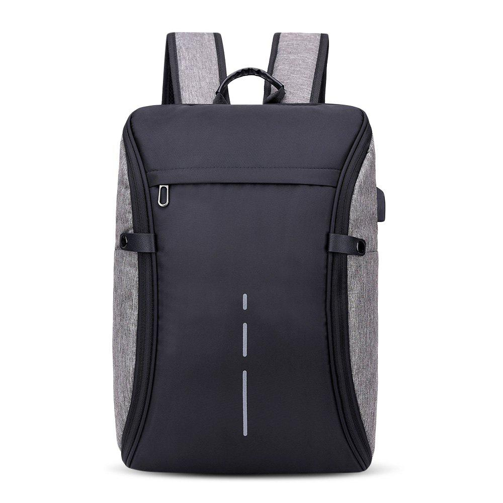 Shops Men's USB Charging Multi-function Large Capacity Backpack