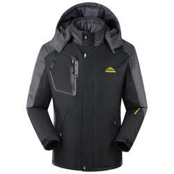 Jacket Plus Size Padded Warm Waterproof Outdoor Men and Women Winter Clothes -