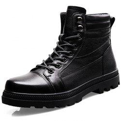 Hommes avec velours chaud hiver coton chaussures bottes Ugg High To Help -