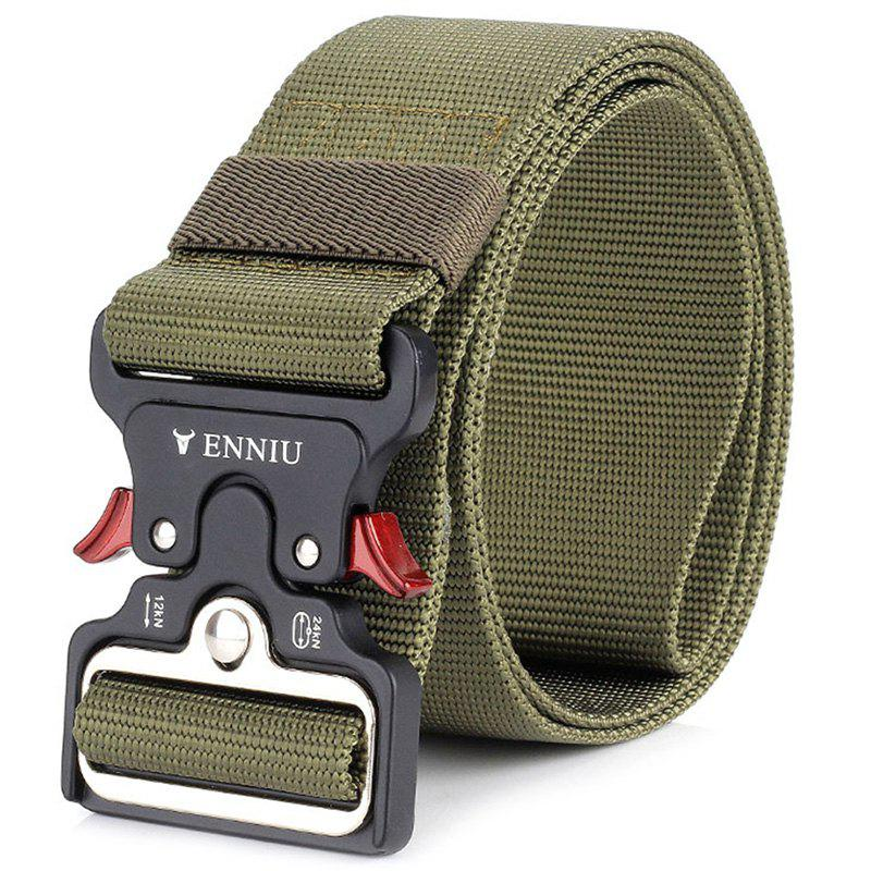 Affordable ENNIU Cow Shaped Nylon Weaving Tactical Military Belt