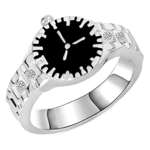 Chic New Product Creative Watch Ring Ornaments
