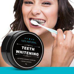 Teeth Whitening Powder Activated Charcoal Stain Remover -