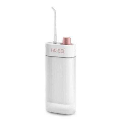 DR.BEI Portable Oral Irrigator USB Rechargeable Teeth Mouth Cleaner - WHITE