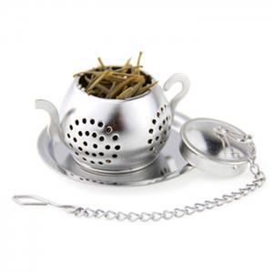 Stainless Steel Teapot Shape Tea Filter Creative Teabags Infusers -