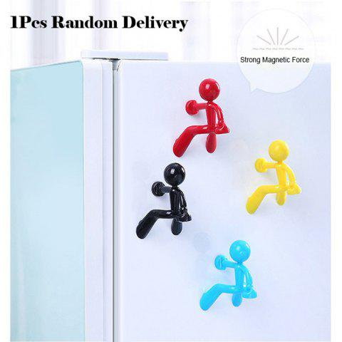 Best Mini Q-Man Fridge Magnet Cute Rubber Man Toy Novelty Curiously Awesome Gift