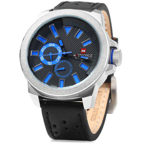 Affordable Naviforce 9064 Male Quartz Watch with Date Function