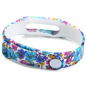 Floral Style Rubber Band -