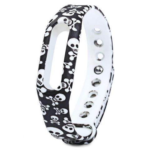 Floral Style Rubber Band - BLACK