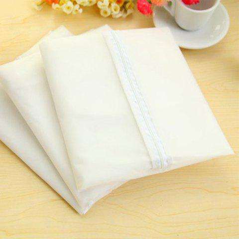 Online Practical Suit Clothes Dust Cover Overcoat Dustproof Supply - MILK WHITE  Mobile