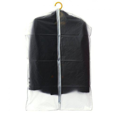 Shops Practical Suit Clothes Dust Cover Overcoat Dustproof Supply - MILK WHITE  Mobile