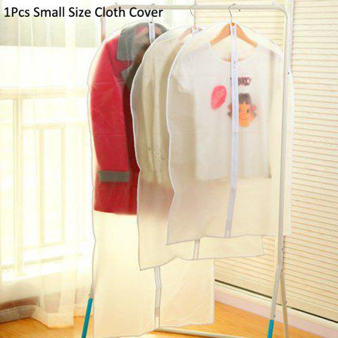 Fashion Practical Suit Clothes Dust Cover Overcoat Dustproof Supply MILK WHITE