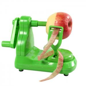 Portable Fruit Apple Peeler with Stainless Blade - Green -