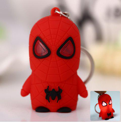 Spiderman Style Key Ring