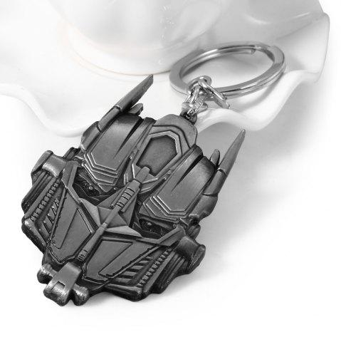 Store Mental Alien Head Style Key Ring Portable Bulk Keychain BLACK RANSFORMERS OPTIMUS PRIME STYLE