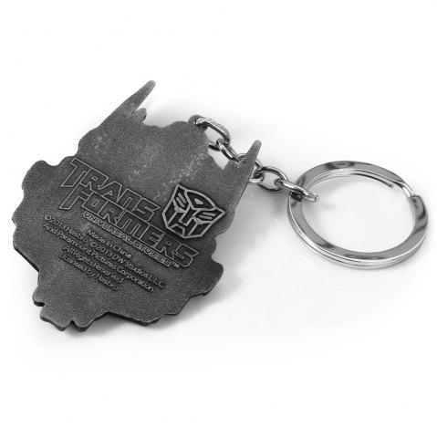 Chic Mental Alien Head Style Key Ring Portable Bulk Keychain - RANSFORMERS OPTIMUS PRIME STYLE BLACK Mobile