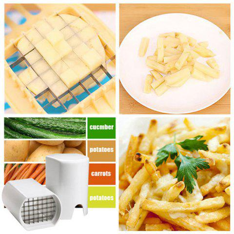Outfit Creative Potato Bar Cutting Machine Set Fruit Shredder Slicer Cutter Tool