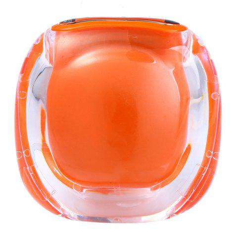 Discount 538 Electrical Pedometer with Square Shape - ORANGE  Mobile