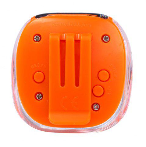 Outfits 538 Electrical Pedometer with Square Shape - ORANGE  Mobile