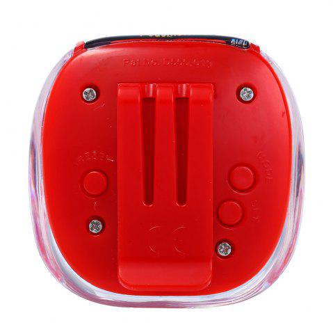 Fancy 538 Electrical Pedometer with Square Shape - RED  Mobile