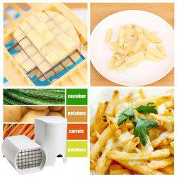 Creative Potato Bar Cutting Machine Set Fruit Shredder Slicer Cutter Tool -