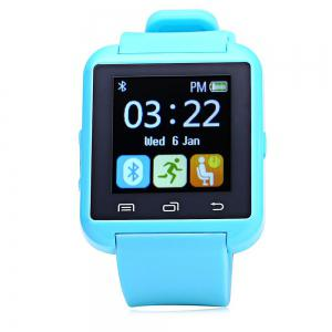 U8S Smart Bluetooth Watch with Pedometer for Sport - BLUE
