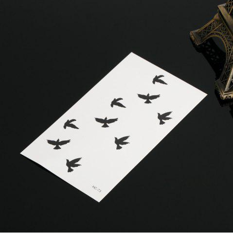 Sale 3D Wild Goose Pattern Temporary Tattoos Stickers - AS THE PICTURE  Mobile