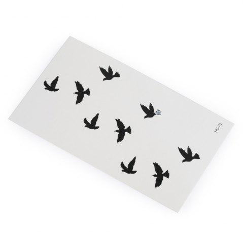 Chic 3D Wild Goose Pattern Temporary Tattoos Stickers - AS THE PICTURE  Mobile